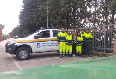 La Protezione Civile di Ariano Irpino si dota di un nuovo pick up anticendio per le emergenze