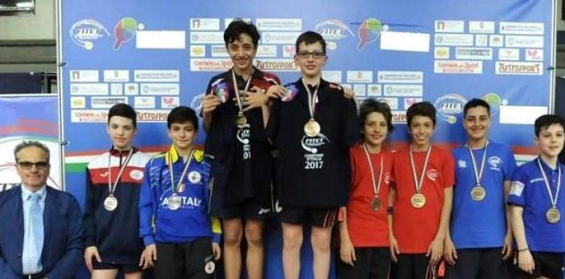 Tennis Tavolo, medaglia di bronzo nazionale per due irpini