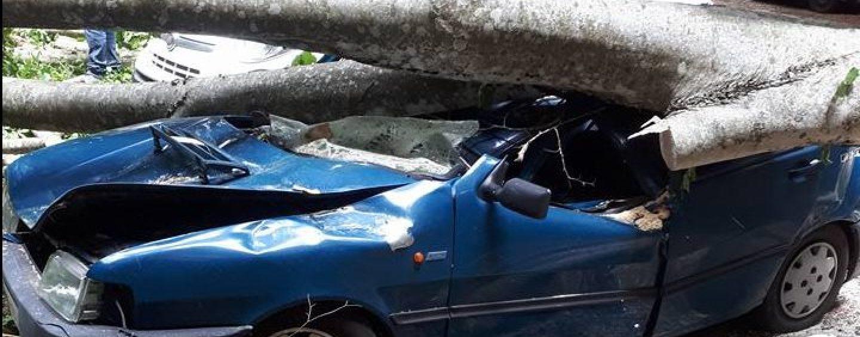 Tragedia sfiorata a Montella, un'intera famiglia salva per miracolo