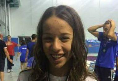 Valentina De Simone, la 14enne irpina trionfa ai campionati nazionali di Nuoto Pinnato