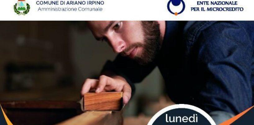 Ariano Irpino, lunedì s'inaugura lo Sportello per microcredito e auto-imprenditorialità