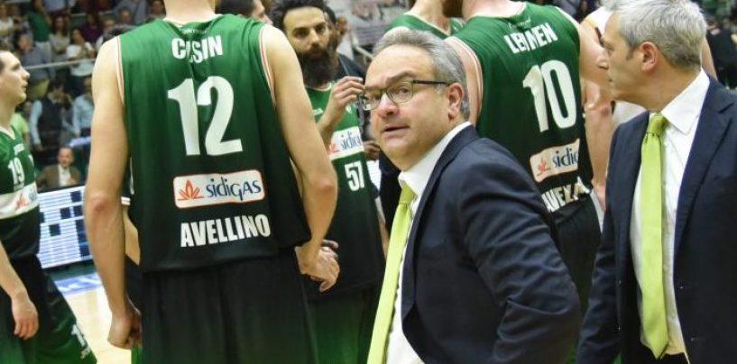 """Sacripanti: """"Secondo quarto orribile, ad Avellino voglio tutti col segno più"""""""
