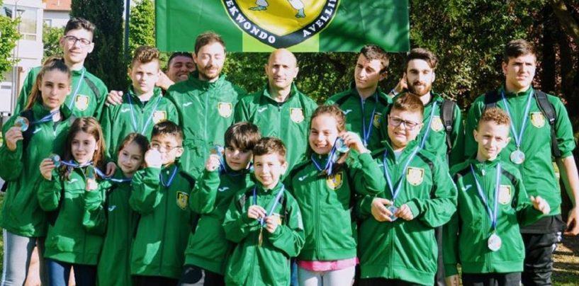 Asd Taekwondo Avellino, più di 100 bambini per il Summer Combat a Grottolella