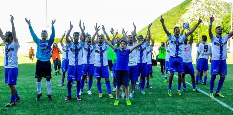 Saginario tiene in vita l'Audax, alla Folgore il primo atto della finale playoff