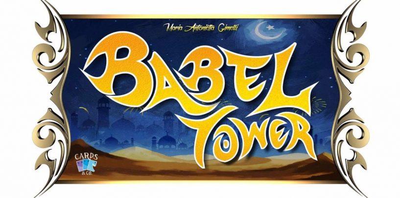 """""""BabelTower"""": nasce ad Avellino il gioco da tavolo che conquisterà gli appassionati"""