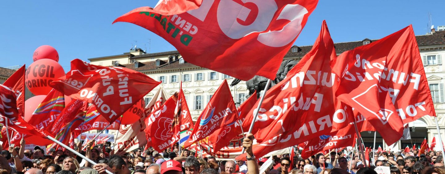 Pics, Cgil presenta documento in conferenza stampa