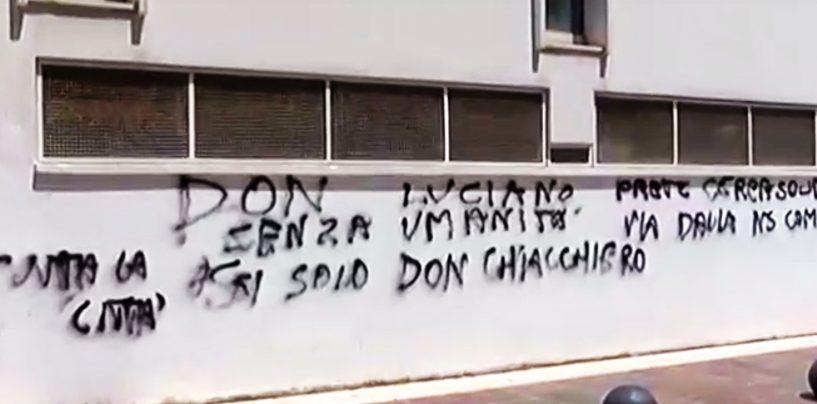 Chiesa di S.Ciro vandalizzata, i giovani al fianco di Padre Luciano