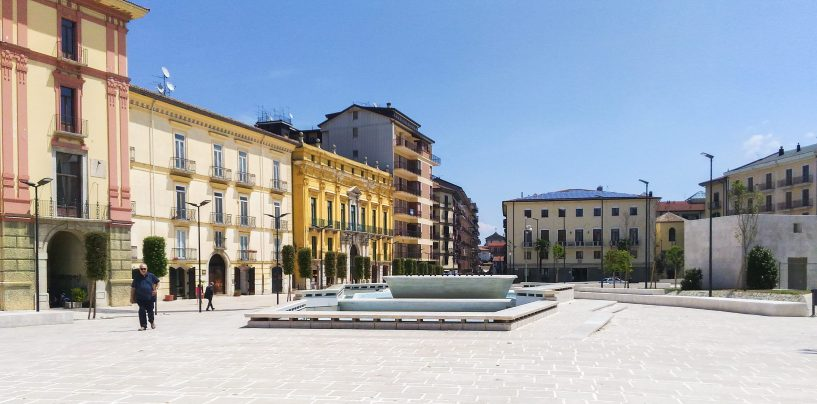 Un'opera d'arte per Piazza Libertà: ecco il bando da 54mila euro del Comune di Avellino