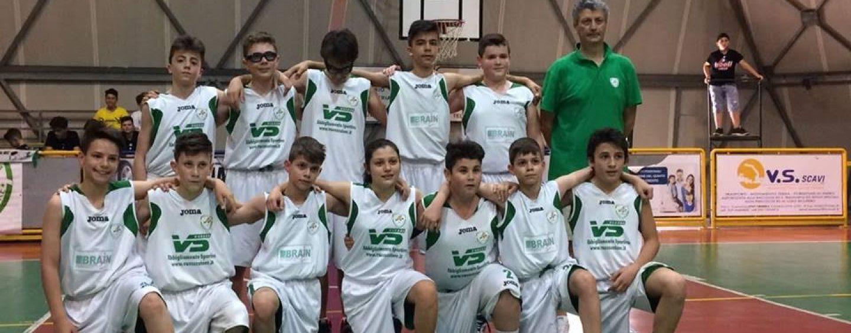 """Vito Lepore Basket: gli under 13 raggiungono le """"final four"""" campane"""