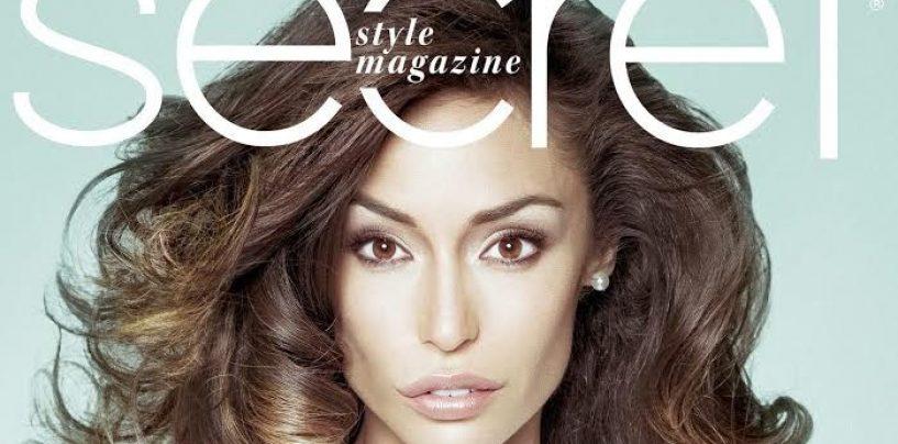 """Raffaella Fico: tra carriera, maternità e amore sulla copertina di """"Secret"""""""