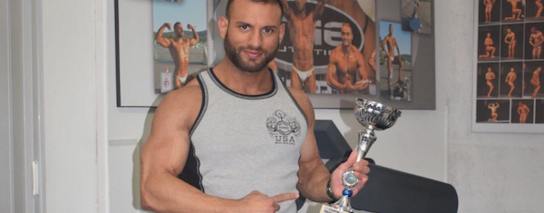 L'Irpinia mostra i muscoli, Virginio Granese trionfa nel Campionato mondiale di body building