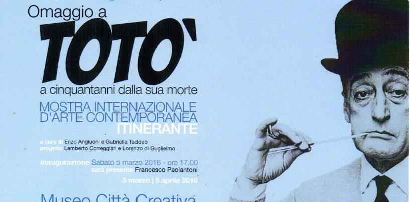 """L'Irpinia ricorda Totò alla Mostra d'Oltremare di Napoli con opere selezionate da """"Arteuropa"""""""