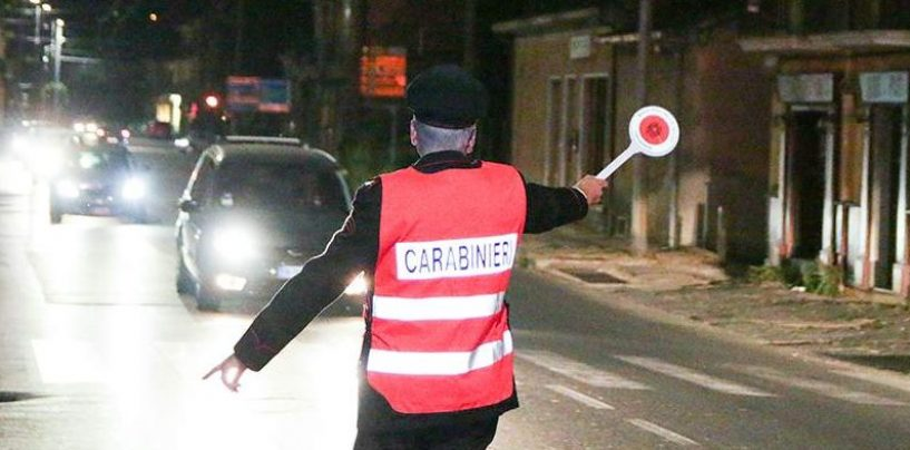 Operazione Alto Impatto dei Carabinieri: 1500 persone controllate