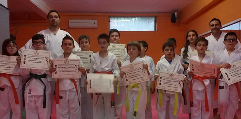 Karate, l'ASD Raion di Manocalzati supera la prova esami