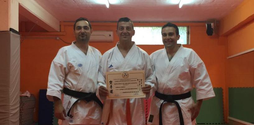 Karate Avellino: Mario Losco dell'A.s.d. Raion ottiene la cintura arancione