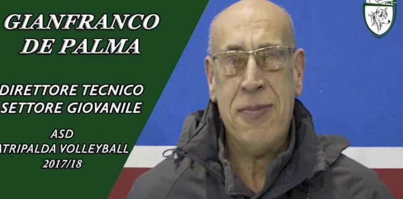 Nasce il settore giovanile dell'Atripalda Volleyball: Gianfranco De Palma direttore Tecnico
