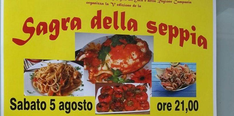 """A Sant'Angelo all'Esca tutto pronto per """"La sagra della seppia"""""""