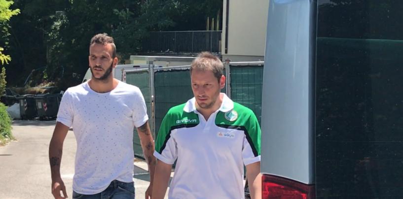 DIARIO DAL RITIRO-FOTO/ Suagher è arrivato a Cascia