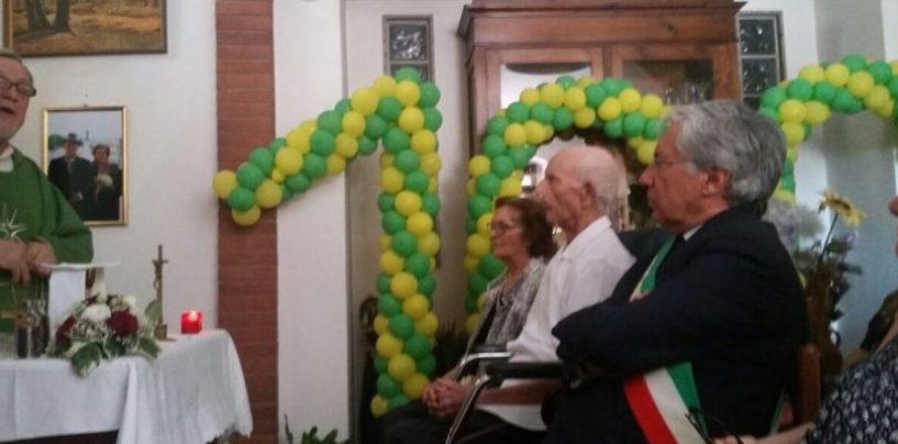 Amelio Zarro spegne cento candeline, in festa l'intera Pietrelcina