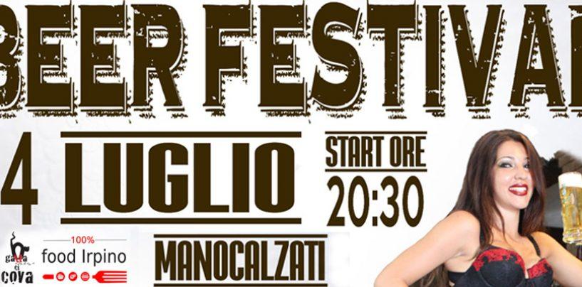 """Al """"Gatta ci cova"""" di Manocalzati il Beer Festival"""