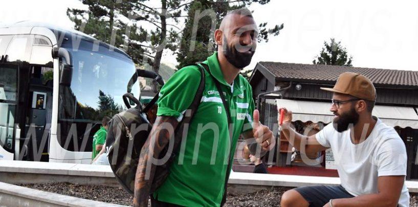 FOTO/ Avellino Calcio – Lupi a Cascia: la fotogallery dell'arrivo in ritiro