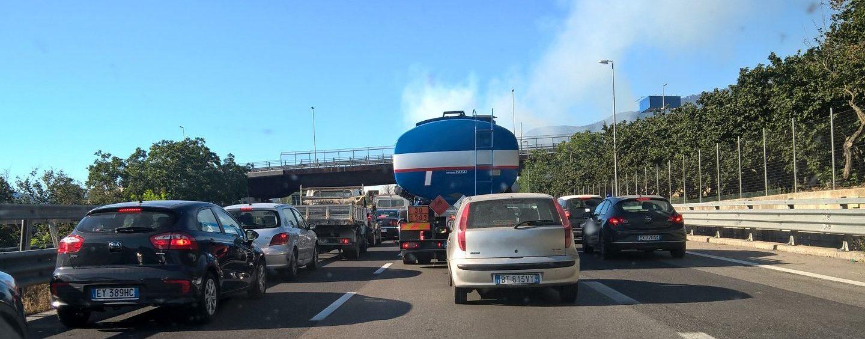 Incidente a catena sull'Avellino-Salerno, traffico in tilt