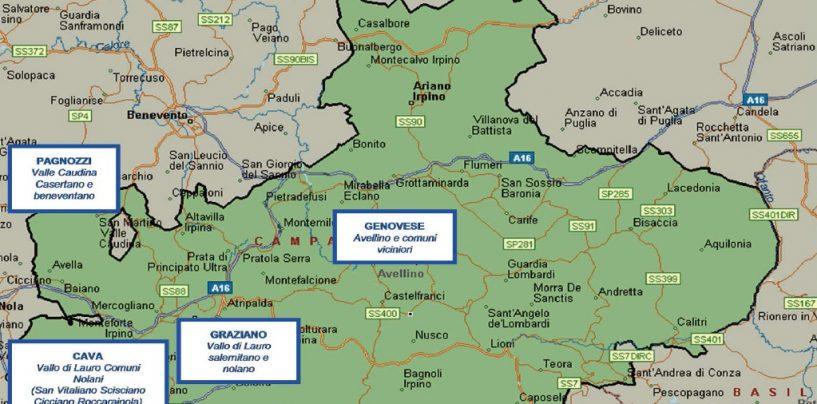 """""""Nuovo Ordine di Zona"""", ecco la mappa della Camorra in Irpinia"""
