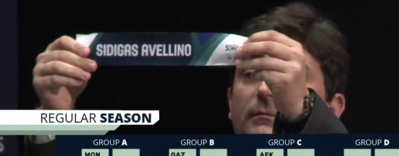 Sidigas, comincia una nuova avventura in Champions: ecco calendario e girone