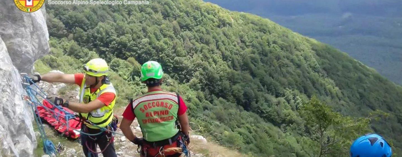 Escursionista in pericolo a Montella, interviene il Soccorso Alpino per portarla in salvo