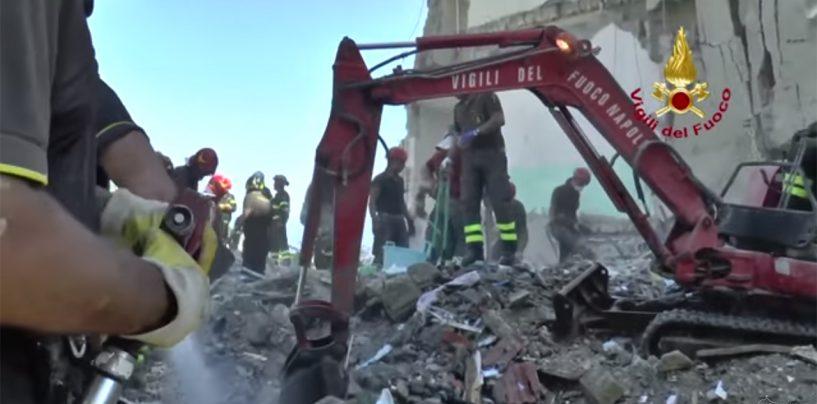 """Crollo Torre Annunziata, l'amministratore della palazzina: """"Nessun B&B occulto alla base della tragedia"""""""