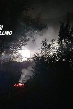 Emergenza incendi in Irpinia, altri tre piromani fermati dai carabinieri