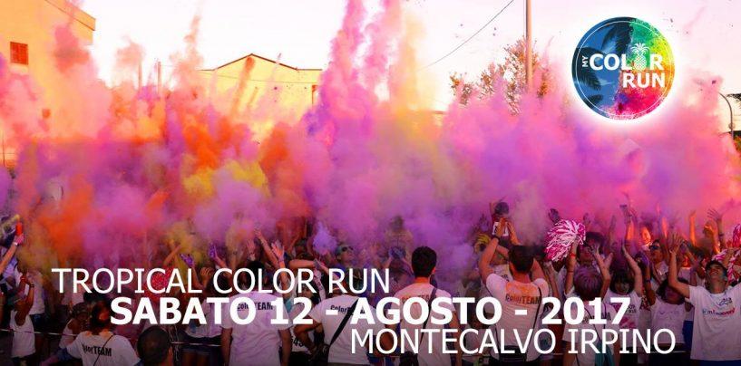 Il 12 Agosto Montecalvo si colora con My Color Run
