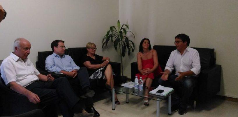 """Pd, il Commissario Ermini ad Avellino: """"No ad un congresso fatto solo di persone"""""""