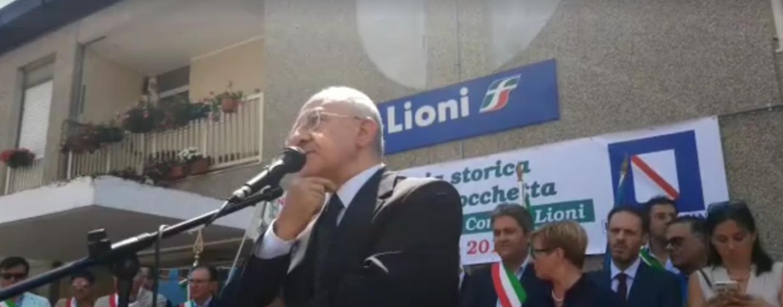 Dopo il forfait di Atripalda, De Luca di nuovo annunciato in Irpinia
