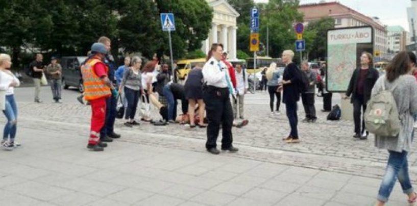 Terrore anche in Finlandia, accoltellate diverse persone in piazza