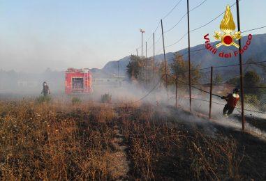 E' ancora emergenza incendi in Irpinia: tutti gli interventi effettuati oggi