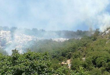 VIDEO/ L'Irpinia brucia, task force all'opera. Roghi più seri a Chiusano e Mugnano