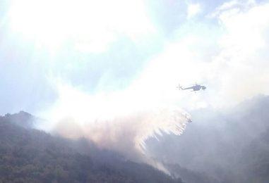 Incendi, il fuoco non dà tregua all'Irpinia: i mezzi aerei non bastano