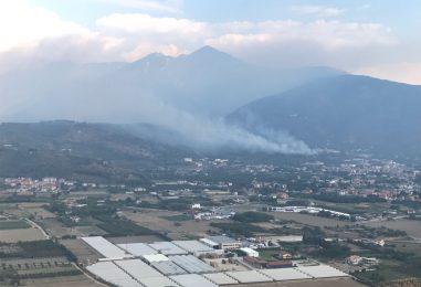 VIDEO-FOTO/ Non si fermano gli incendi in Irpinia, la mappa di quelli odierni