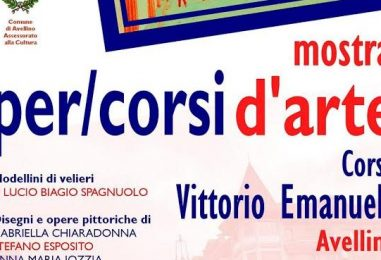 """""""Per/Corsi d'Arte"""", viaggio nelle immagini a Corso Vittorio Emanuele"""