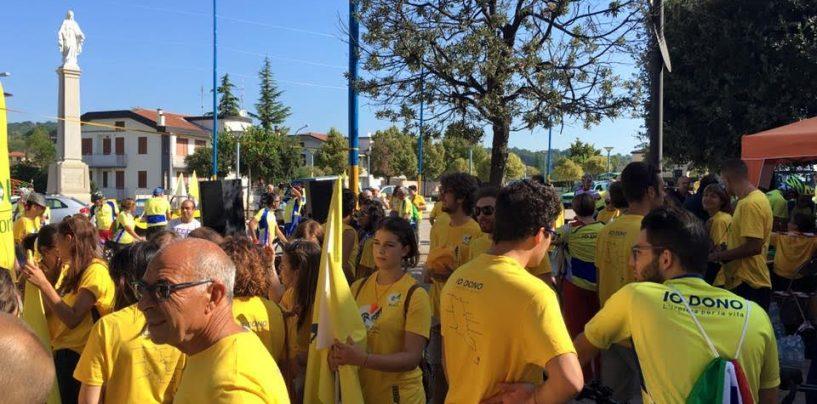 """""""Io dono, l'Irpinia per la vita"""", parte da Lioni la gara ciclistica solidale"""