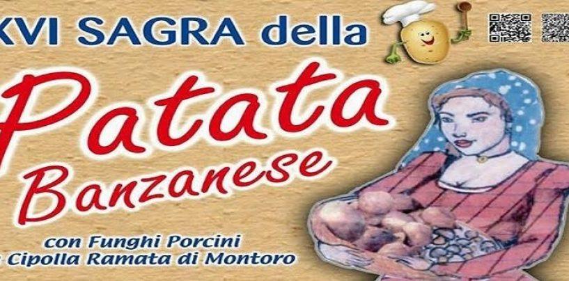 """""""Sagra della patata banzanese"""", dal 19 al 22 agosto a Banzano di Montoro"""