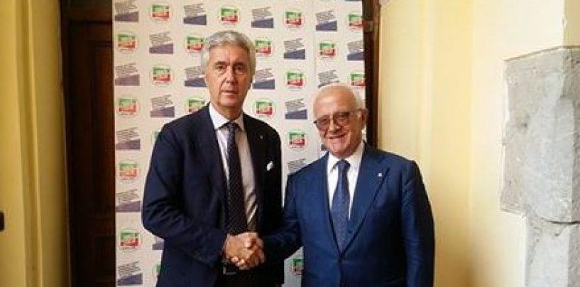 Stati generali del centrodestra, Cosimo Sibilia accoglie Pietro Foglia