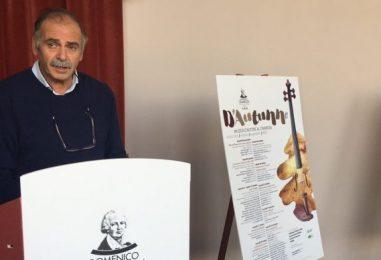 """Il """"Cimarosa"""" omaggia l'autunno, Santaniello: """"La cultura non è a pagamento"""""""