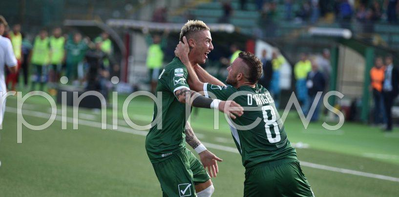 """Avellino-Empoli 3-2, D'Angelo: """"Mai mollato nella difficoltà"""""""