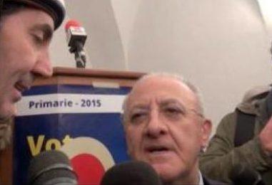 """De Luca """"tampinato"""" dalle Iene: l'ultima volta a Montoro"""