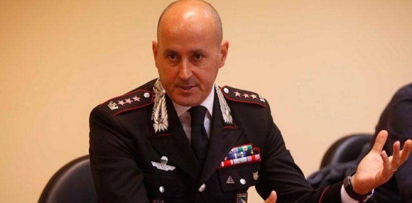 Carabinieri: Di Pietro lascia il Comando di Avellino, ecco chi lo sostituirà