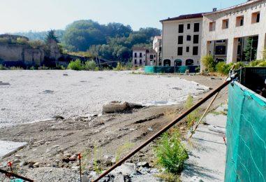 """Tomasone: """"Boulevard da piazza Castello alla Ferrovia. Pista ciclabile lungo il Fenestrelle"""""""