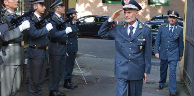 Il Generale Carlo Ricozzi in visita al Comando Provinciale della Guardia di Finanza