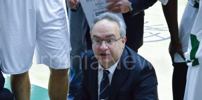 """Sidigas sconfitta in Polonia, Sacripanti: """"Preoccupato per gli infortuni di Zerini e N'Diaye"""""""